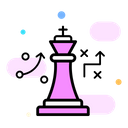 Business Tactic Business Strategy Plan Tactics Icon