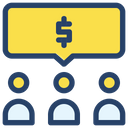 Group Businessman Project Icon