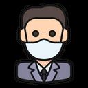 Avatar Businessman Worker Icon