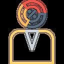 Businessman Enterpreneur Risk Icon