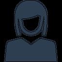 Businesswomen Icon