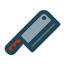 Butcher Meat Knife Knife Icon