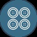 Button Tshirt Tee Icon