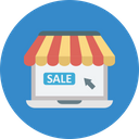 Buy Online Digital Marketing Ecommerce Sale Icon
