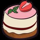 Birthday Cake Strawberry Cake Sweet Icon