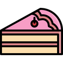 Cake Piece Topping Icon
