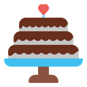 Cake Birthday Wedding Icon