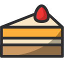 Cake Food Cherry Icon