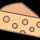 Bakery Food Cake Piece Dessert Icon