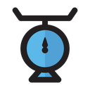 Cake Scales Cooking Set Icon