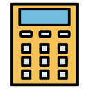 Calculator Technolgical Electronic Icon