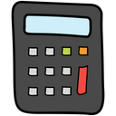 Calculator Adder Number Cruncher Icon