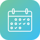 Calendar Metting Schedule Icon