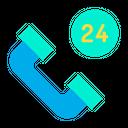 Call Service Service Hour Service Icon