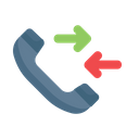 Call Receive Phone Icon