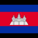 Cambodia Flag Country Icon
