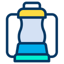 Camp Lamp Icon
