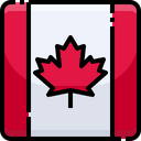 Canada Flag Country Icon