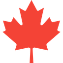 Canadian Maple Leaf Technology Logo Social Media Logo Icon