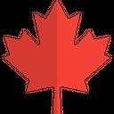 Canadian Maple Leaf Icon