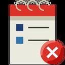 Calendar Date Note Icon