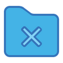 Cancel Folder Icon