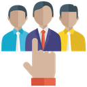 Candidate Selection Recruitment Human Resource Icon