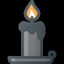 Candle Light Halloween Icon