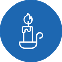 Candle Stand Light Icon