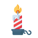 Candle Stand Flame Icon
