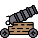 Cannon Weapon Fight Icon