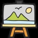Picture Painting Landscape Icon