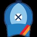 Cricket Cap Cap Hat Icon