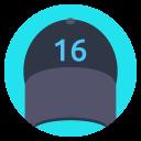 Cap Style Accessory Icon