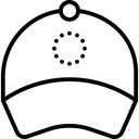 Cap Printing Icon