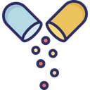 Capsule Drugs Medical Pills Icon