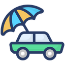 Auto Insurance Car Insurance Vehicle Protection Icon