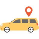 Car Locator Gps Navigation Icon