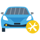 Car Maintenance Car Repairing Vehicle Care Icon