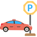 Car Park Spot Car Parking Parked Car Icon