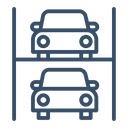 Car Parking System Icon