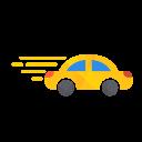 Car Speed Travel Icon