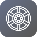 Car Tire Wheel Icon