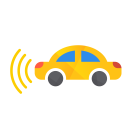 Car With Left Icon