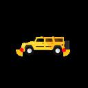 Car With Sensor Icon