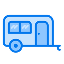 Caravan Travel Trailer Icon