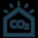 Carbon dioxide sensor Icon