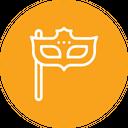 Carnival mask Icon