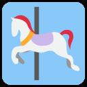 Carousel Horse Fair Icon