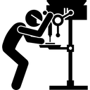 Drill Drilling Equipment Icon
